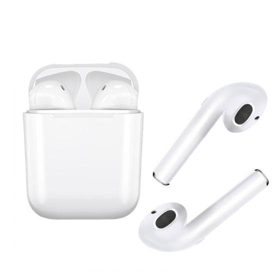 Беспроводные Bluetooth наушники Apple TWS i8 mini точная копия airpods Ifans White Белые