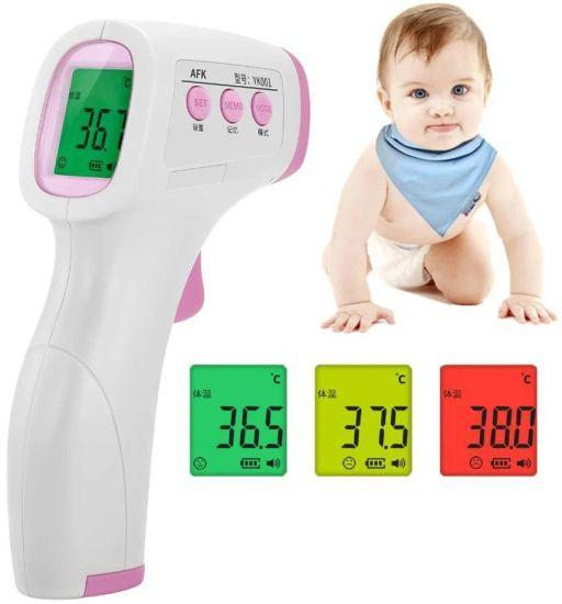 Инфракрасный безконтактный градусник для детей Non contact FHT-1 infrared body thermometer термометр