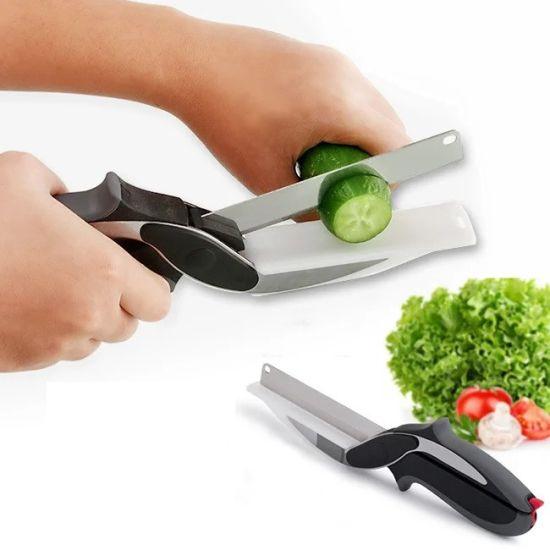 Умные кухонные ножницы 3 в 1 Smart Clever Cutter