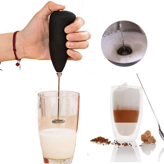 Ручной мини миксер Fuke mini creamer для взбивания молока, сливок (Капучинатор, венчик для капучино, кофе)