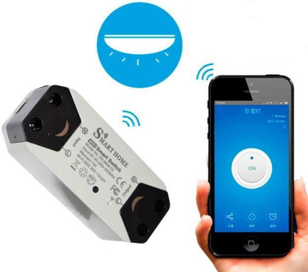 Беспроводный Wifi выключатель2шт Smart Breaker Home SS-8839-02 умное wi-fi реле220V 10A/2200W