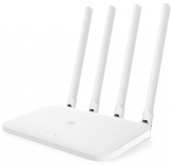 Беспроводной маршрутизатор (Wi-fi роутер) Xiaomi Mi WiFi Router 4C Global White на 4 антенны