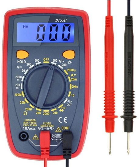 Многофункциональный мультиметр Digital DT33D