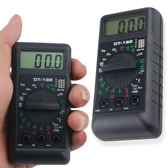 Цифровой мультиметр Digital DT-182 тестер звуковой мультиметр