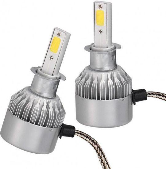 Комплект светодиодных автомобильных LED ламп C6 H3 30W