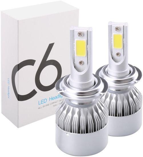 Комплект светодиодных автомобильных LED ламп C6 H7 60W