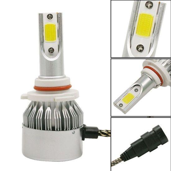 Комплект светодиодных автомобильных LED ламп C6 HB3/9005 32W в противотуманки