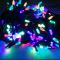 Внутренняя цветная гирлянда 7 м 100 диодов 2977 светодиодная гирлянда Xmas LED 100 M-4 RGB Мультицветная 7м