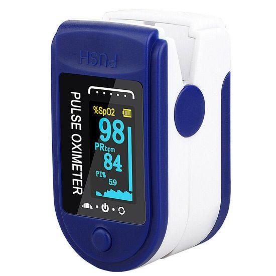 Беспроводной пульсоксиметр, пульсометр на палец Pulse Oximeter iHealth SP07 Цветной TFT экран цифровой