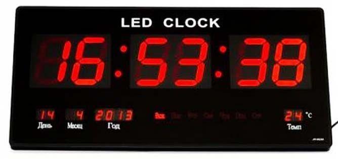 Настенные Электронные Часы LED Clock JH 4622 Red Красные