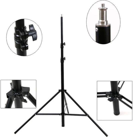 Студийная стойка Ring Light RL-Stand штатив 210 см для кольцевой лампы тренога, подставка 2.1 м