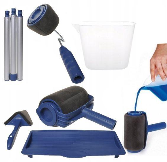 Набор малярных валиков Paint Roller Plus для покраски с резервуаром, покраска без подтеков