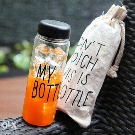 Бутылка для напитков My Bottle 360 с чехлом 500 мл с чехлом в комплекте