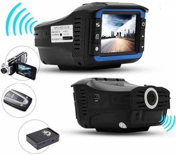 Автомобильный видеорегистратор Radar video X7 360° 2 в 1 FullHD 1080p с радaр-детектoром и GPS модулем