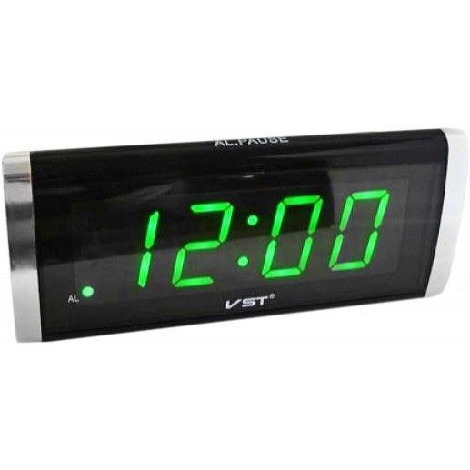 Электронные настольные часы VST 730 подвижный дисплей, будильник с кнопкой отсрочки времени