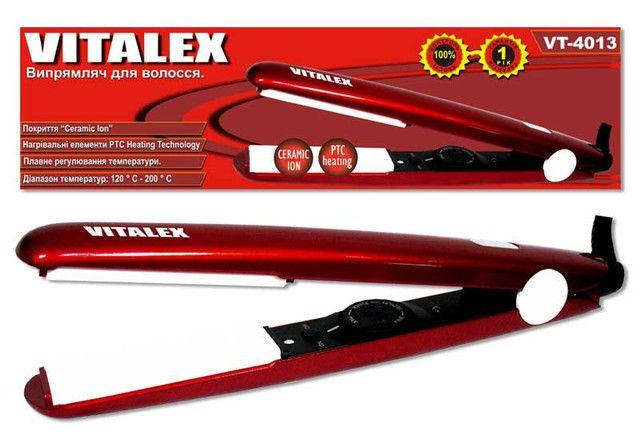 Выпрямитель для волос Vitalex VT - 4013 утюжок плойка щипцы для укладки волос ( Виталекс )