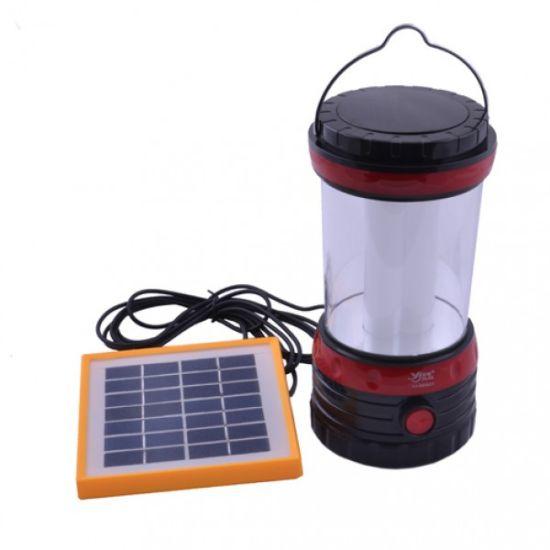 Фонарик лампа Yajia YJ- 5835 DT с солнечной панелью