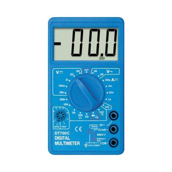 Мультиметр Digital DT700C звуковой, цифровой мультиметр, измерительный прибор