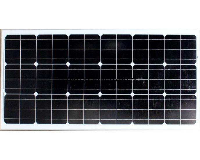 Поликристаллическая универсальная солнечная панель Solar board UKC 150W 18V 1480x670x3.5 см