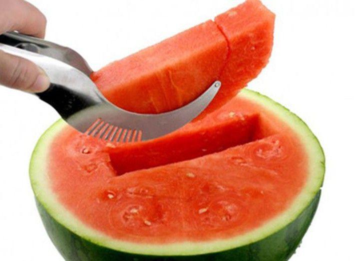 Нож для чистки и нарезки арбуза дольками Angurello Ganietti